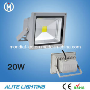 2015 CE & RoHS Approved Outdoor 20W LED Floodlight