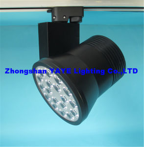 Yaye Competitive Price 2/3/4-Wires 18W LED Track Lighting with CE/RoHS/3 Years Warranty pictures & photos