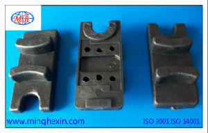 Black Plastic Bottom Retaining Part with ISO SGS