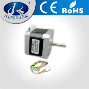 42mm Square 40mm Motor Length Stepper Motor with D Shaft pictures & photos