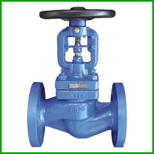 Bellows Seal Flanged Globe Valve pictures & photos