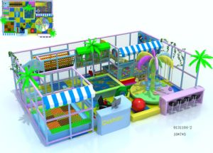 2014 Latest Ocean Theme Digital Indoor Playground Models for Kids (TY-14039) pictures & photos