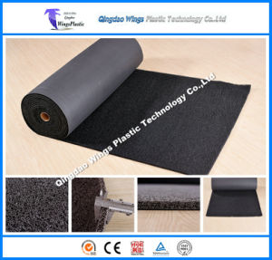 Double Color PVC Coil Car Mat with Spike Backing pictures & photos