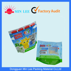 Three-Dimensional Zipper Stand up Plastic Packaging Bag for Snack, Food, Tea, Coffee with Butterfly Hole pictures & photos