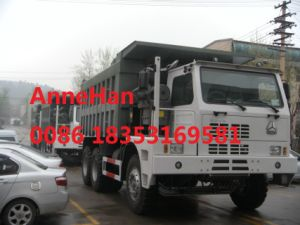 6 X 4 Heavy Duty Dump Truck Sinotruck HOWO 371HP 70ton Special Design of Mining