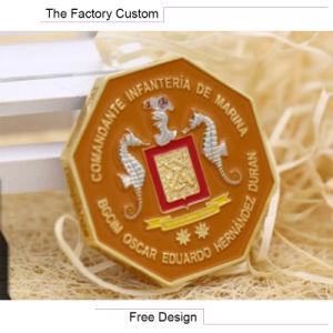 Polygon Color Baking Commemorative Coins pictures & photos