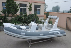 Liya 5.2m New Cabin Cruiser Boats Rib Inflatable Fiberglass Boat pictures & photos