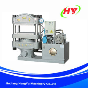Plate Vulcanizing Press Shoe Machine pictures & photos