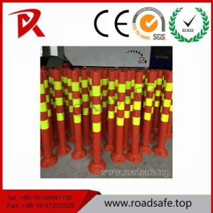 PE Flexible Guide Spring Post/Security Road Flexible PE Guide Bollard Delineator Post Bollard pictures & photos
