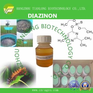 Highly Effective Insecticide Diazinon (95%TC, 50%EC, 60%EC, 50%EW, 40%WP. 5%G, 10%G) pictures & photos