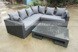 Mtc-277 Luxury Garden Sectional Wicker Sofa Rattan Outdoor Furniture pictures & photos