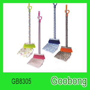 Household Cleaning Plastic Broom Dustpan Set pictures & photos