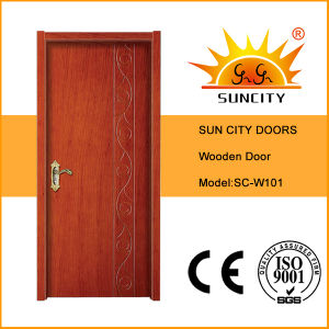 Painted Interior Composite Wooden Door pictures & photos