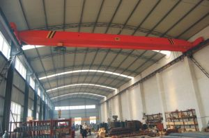 Workshop Applied Single Girder Overhead Crane with Electric Hoist Lifting Machinery pictures & photos