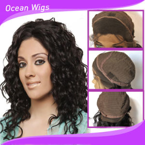 Hot Sale Indian Human Hair Lace Wig pictures & photos
