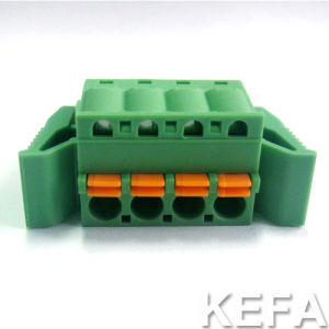 Screwless Terminal Block Conector pictures & photos