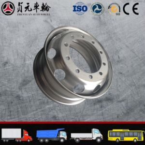 Bus/Truck Steel Wheel Rim Zhenyuan Auto Wheel (9.00 8.25X22.5) pictures & photos