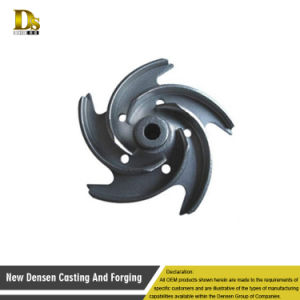 Factory Outlet Investment Casting Small Water Pump Impeller Design pictures & photos