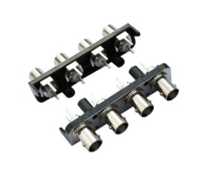 Electrical Socket Terminal Edge Mount RF Connector R/a BNC Jack Female pictures & photos