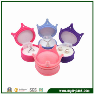 Princess Romantic Crown Plastic Jewelry Box pictures & photos