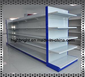 Double Side Supermarket Shelf Rack pictures & photos