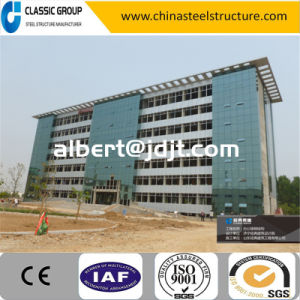 Customized High Qualtity Steel Structure Business/Office Building Price pictures & photos