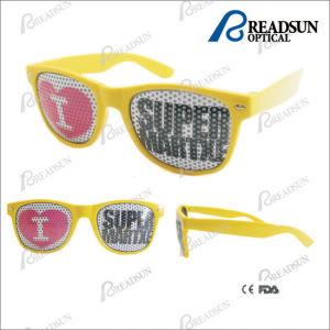 Cheap Pattern Stick on Lens Sunglasses Frame Sunglasses Plastic Promotion Sunglasses pictures & photos