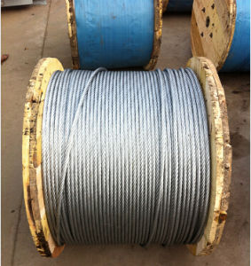 Hot Sale Fishing Steel Wire Rope and Cable 6X24 with Fibre Core pictures & photos