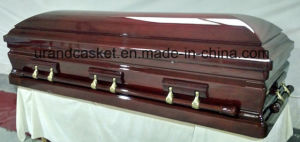 Solid Cherry Unique Design Urand Casket