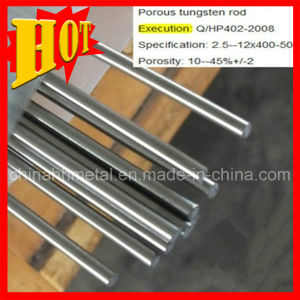 Sintered Porous Tungsten Rods & Bars pictures & photos