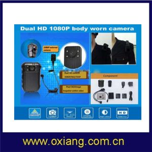 Custom Waterproof 3G/4G 3G Police Body Camera with WiFi pictures & photos