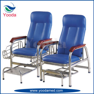 2 Position Hospital Infusion Chair with Footstep pictures & photos