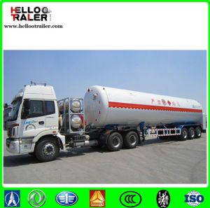 Tri Axle 55.6m3 LNG Storage Tank Trailer pictures & photos