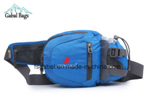 Sports Waist Pouch Hip Bag with Water Bottle Holder pictures & photos