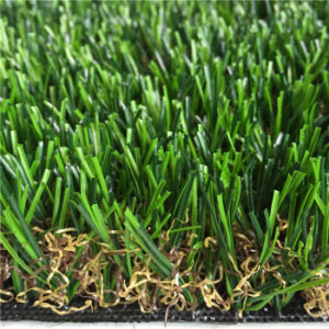 Cheaper Safer Durable Garden Decoration Synthetic Grass (AMU424-30L) pictures & photos