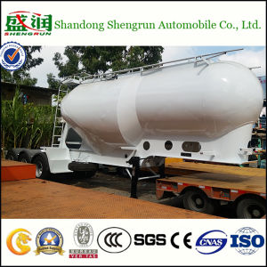 Shengrun Manufacturer Supply 25cbm Vertical Type Cement Tank Trailer in Austraila