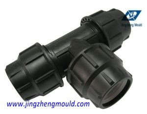 Injection PP 90 Degree Tee Mold pictures & photos