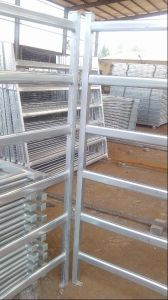 Galvanized Steel 6 Tube Cattle Corral Panel pictures & photos