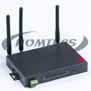 Industrial 3G 4LAN Router for Surveillance&Burglar Alarm Monitoring H50series