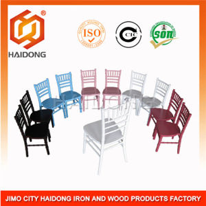 (HDCV-U) Black Wood Chiavari Chair pictures & photos