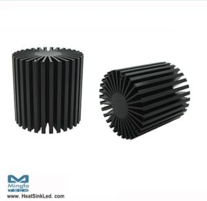 Anodized Treatment Aluminum Extrusion Heatsink for LED Downlight Simpoled-8180
