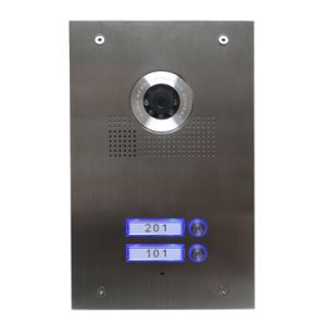 Stainless Steel Two Users Door Unit for Villa Set pictures & photos
