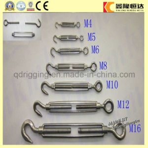 DIN 1480 Turnbackle, Hook to Eye Turnbuckle pictures & photos