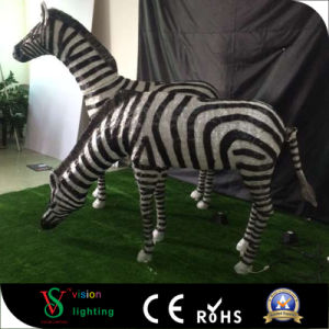 Christmas 3D Zebra Sculpture Light pictures & photos