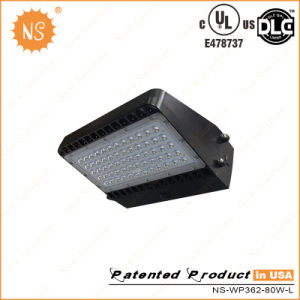 UL Dlc 8000lm 80W LED Wall Pack Light pictures & photos