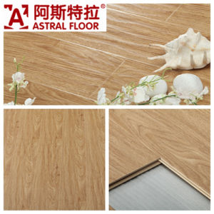 AC3/AC4 Waterproof (U-groove) Wave Embossed Surface Oak Laminate Flooring (AB9938) pictures & photos