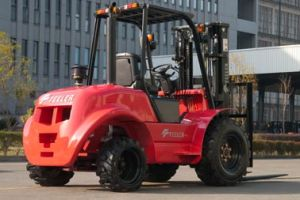 Feeler 3.5ton SUV Rough Terrain Forklift with High Quality pictures & photos