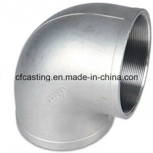 Investment Casting Elbow with External Thread pictures & photos