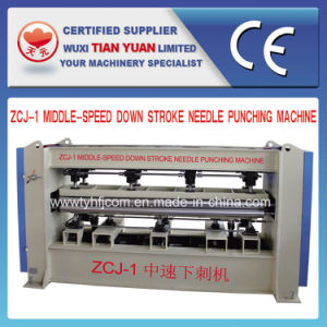 Middle-Speed Down Stroke Needle Punching Machine pictures & photos