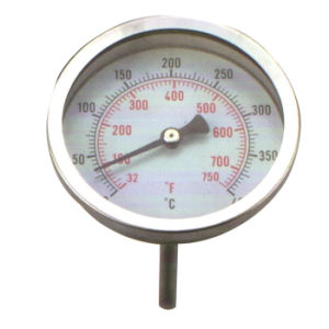 Three Inch Stainless Steel Back Connection Thermometer
